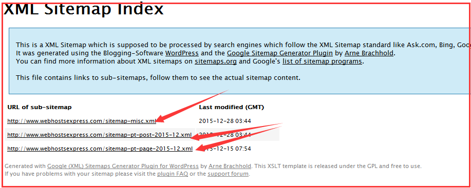 New XML Sitemap Generator Plug In For Wordpress V408